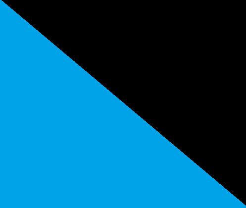 Bleu ciel / noir